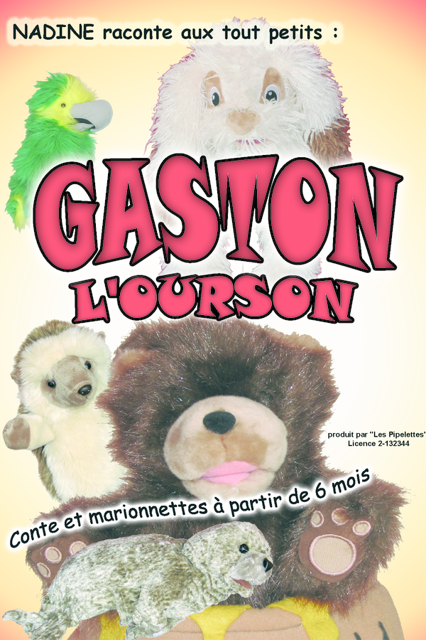Divadlo Theatre - spectacle enfant - marionnette - Gaston